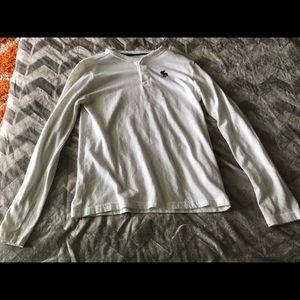 Abercrombie Long Sleeve White Shirt